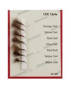 Snowbee CDC Owls Fly Selection