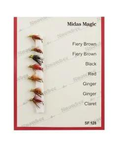 Snowbee Midas Magic Fly Selection
