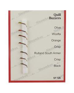 Snowbee Quill Buzzers Fly Selection