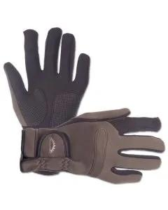 Sundridge Hydra Full Finger Khaki/Black Super Stretch Gloves