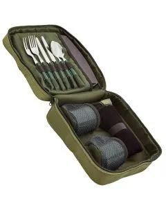 Trakker NXG Deluxe Food Set Open