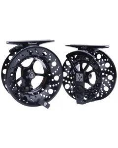 Wychwood River and Stream Fly Reels Black