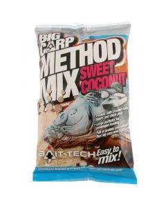 Bait-Tech Big Carp Sweet Coconut Method Mix