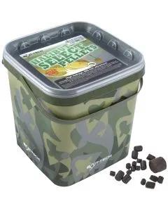 Bait-Tech Camo Buckets Halibut Select Pellets