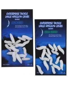 Enterprise Tackle Large Niteglow Grubs