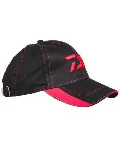 Daiwa Black'N'Red Cap