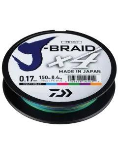 Daiwa J-Braid X4 Multi-Colour