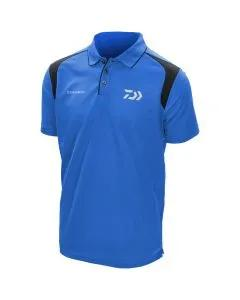 Daiwa Tournament Polo Shirts Blue & Black