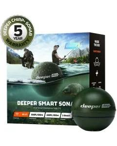 Deeper Chirp+ Fish Finder + Free Solid PVA Bag Bundle