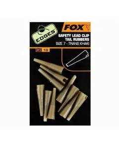Fox Edges Safety Lead Clip Tail Rubbers