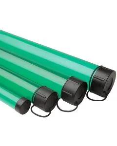 Leeda Green Rod Tube