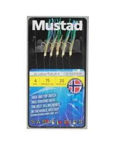 Mustad Sabiki Bi-color Fish Skin Rigs