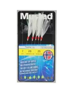 Mustad Sabiki Feather Rigs
