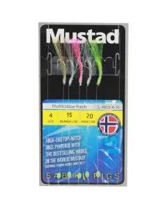 Mustad Sabiki Multicolor Flash Rigs