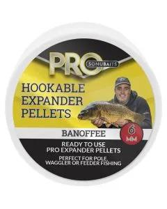 Sonubaits Pro Hookable Expander Pellets Banoffee 6mm