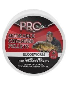 Sonubaits Pro Hookable Expander Pellets Bloodworm 6mm