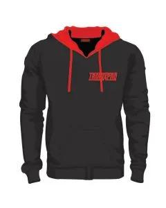 Tronixpro Classic Black & Red Hoodie