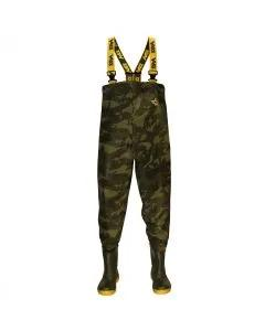 Vass VC800 Camo Chest Waders
