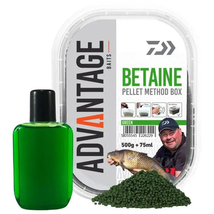 Daiwa Advantage Baits Green Betaine Method Box