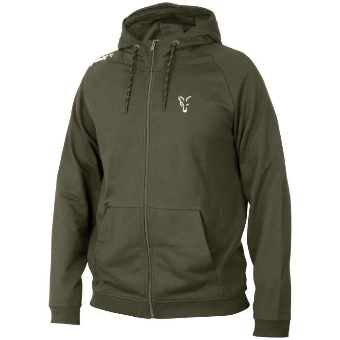 Fox Collection Green Silver Lightweight Hoody