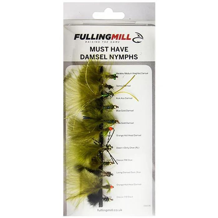 Fulling Mill Must Have Damsel Nymphs 11 Flies 1