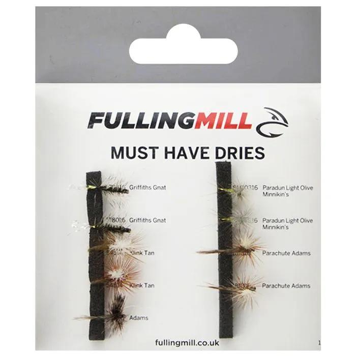 Fulling Mill Must Have Dries 9 Flies 1