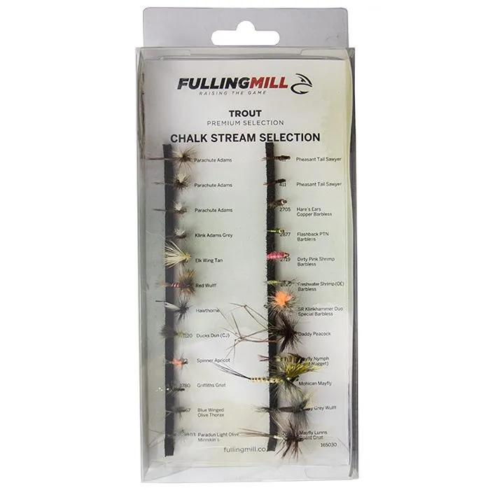 Fulling Mill Premium Chalk Stream Selection 24 Flies