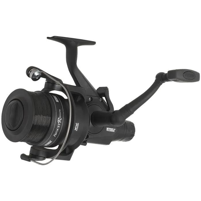 Mitchell Reel Avocet Black Edition with Line