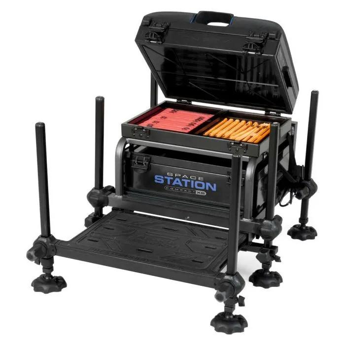 Preston Space Station Compact Seatbox with Slim Line Tray