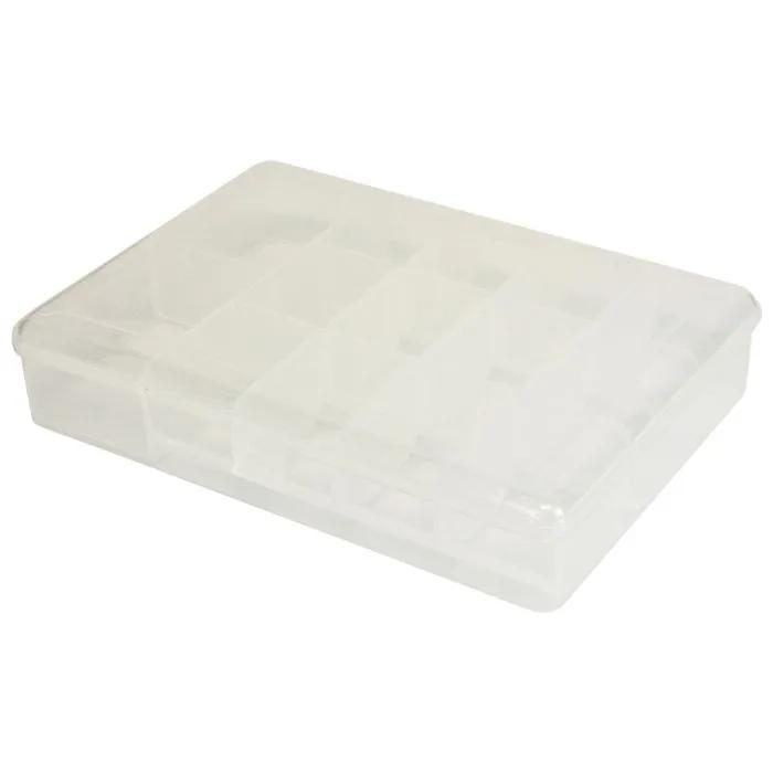 Stillwater 14 Compartment Bit Box Clear