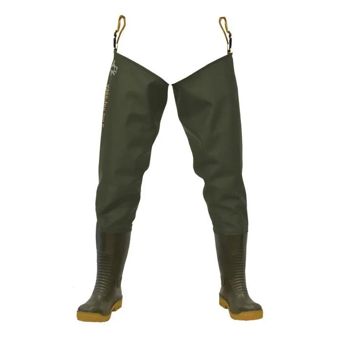 Vass 700 Nova Studded Heavy Duty PVC Thigh Wader