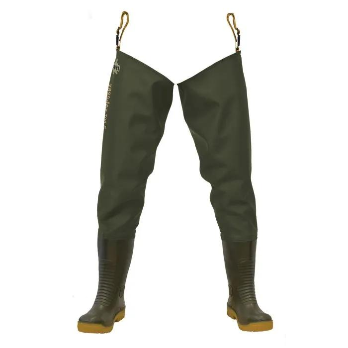 Vass 700E Nova Studded Heavy Duty PVC Thigh Wader
