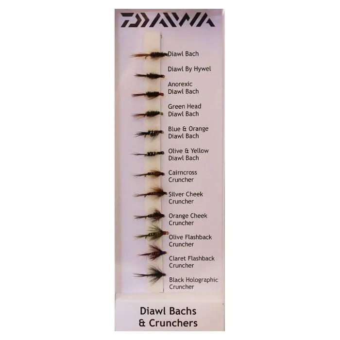 Daiwa Diawls & Crunchers Flies