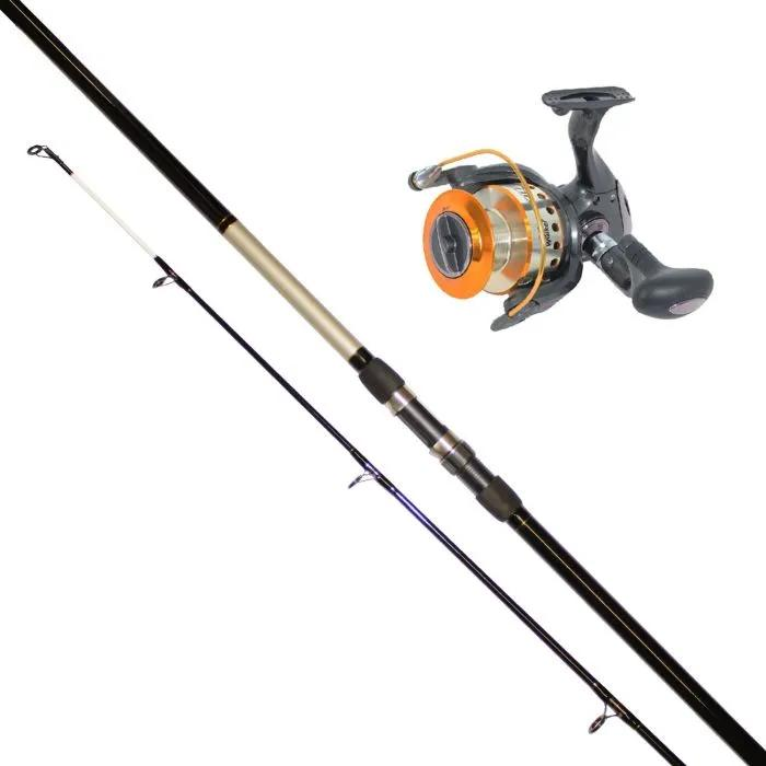 Jarvis Walker Aurora 12FT Beach Rod and 6500 Reel Combo