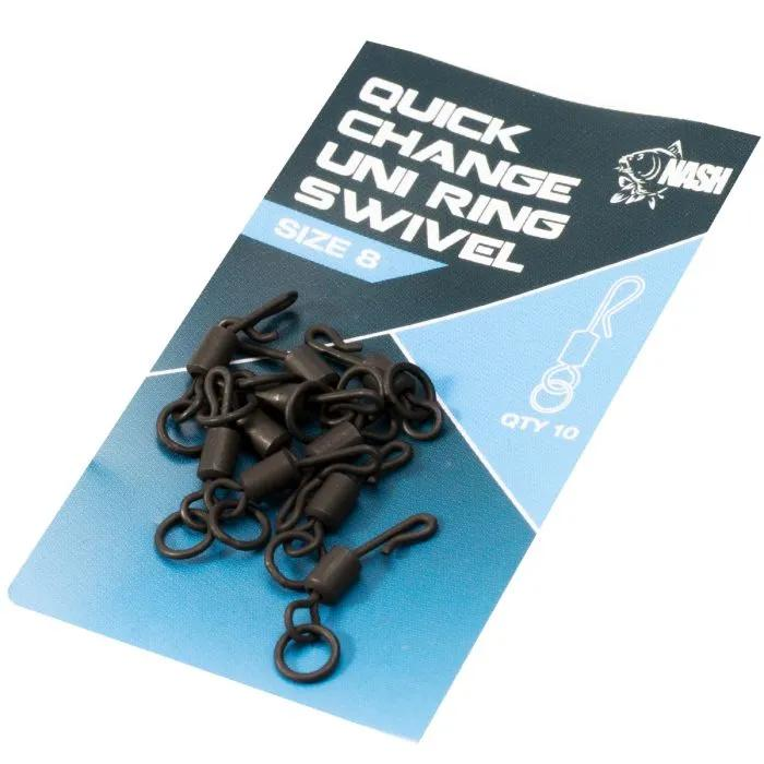 Nash Quick Change Uni Ring Swivels