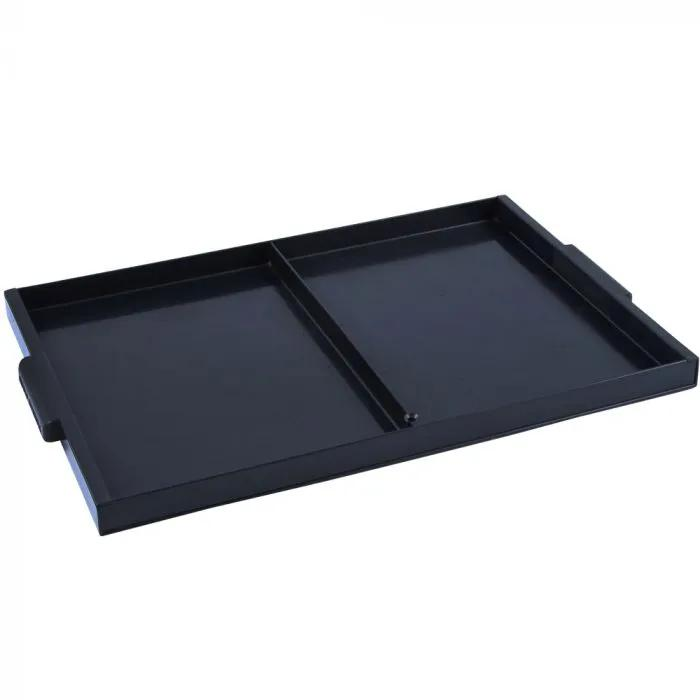 Preston Black Shallow Plastic Side Draw