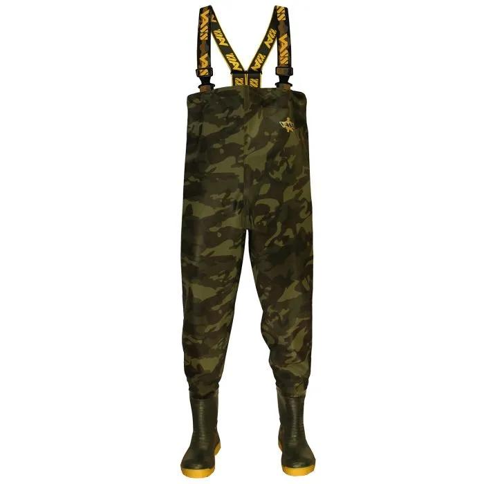 Vass Tex 355 Camo Lightweight Waders Non Studded