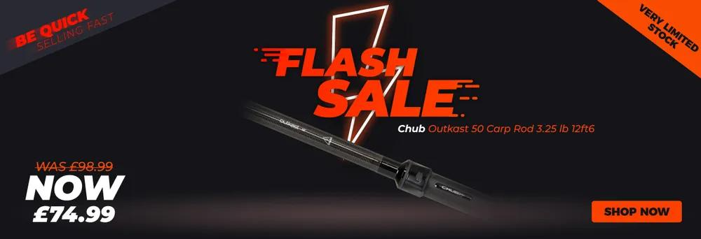 Flash Sale - Chub Outkast 50 Carp Rod