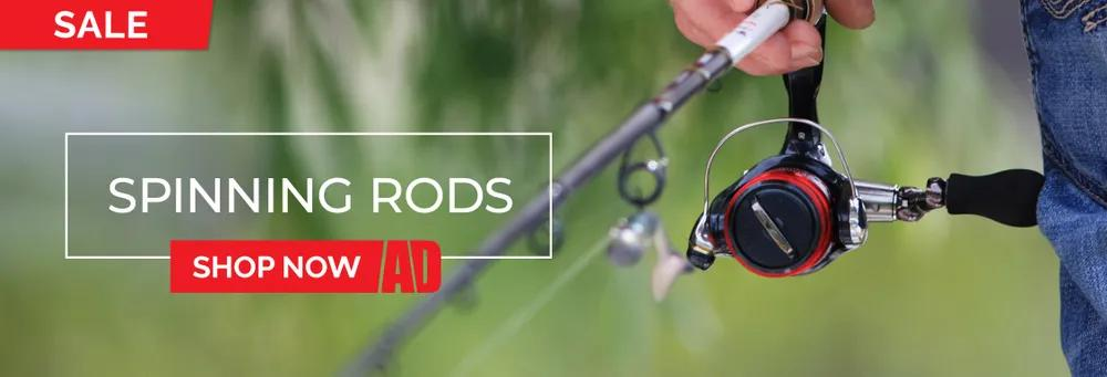 Spinning Rods Sale Category